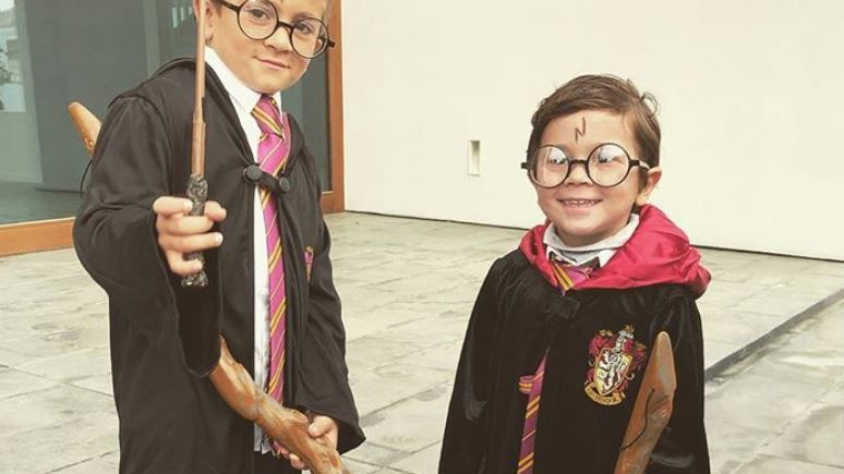 El video viral de Mateo Messi disfrazado de Harry Potter