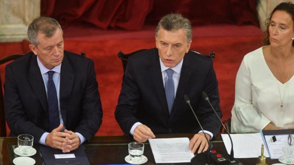 Macri abrió las sesiones en el Congreso