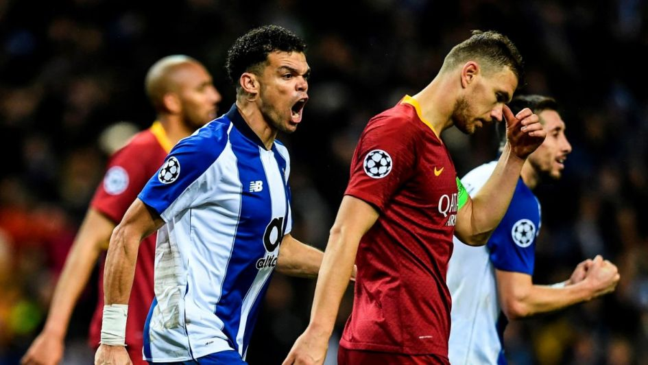 El VAR, principal protagonista en la victoria del Porto ante la Roma