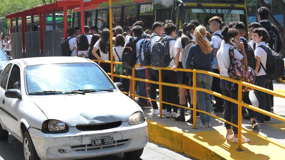 Mendotran: terminó la semana de perdón por tardanzas para los estudiantes