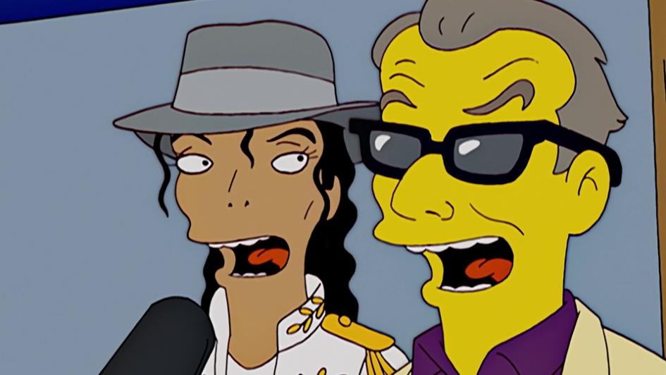 "Los Simpson ""eliminan"" a Michael Jackson"