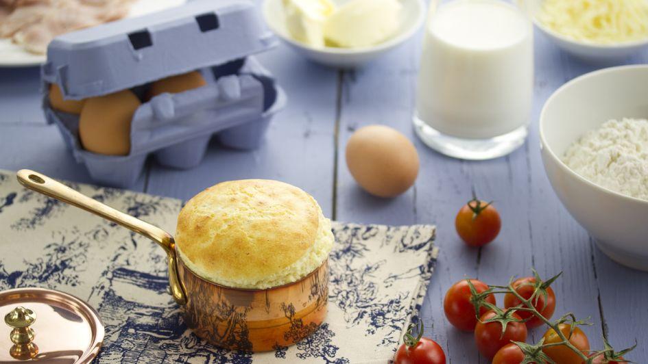 Preparate para disfrutar de este exquisito soufflé de queso