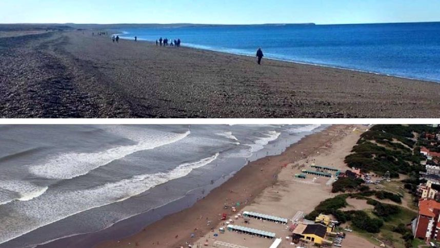 Dos playas argentinas entre las 25 mejores de Sudamérica