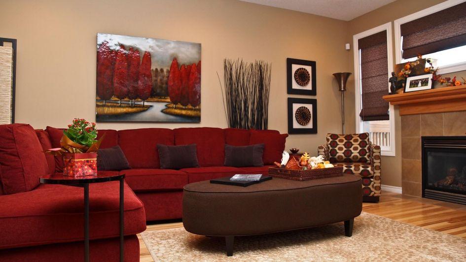 Tus paredes se llenan de otoño decorando con marrón