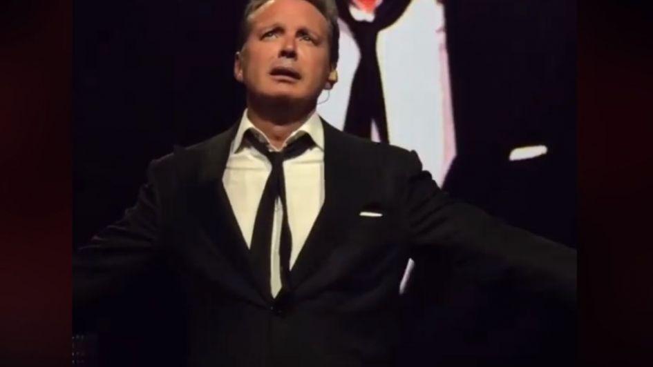 Luis Miguel revienta en llanto en concierto: Perú le arrugó el corazón