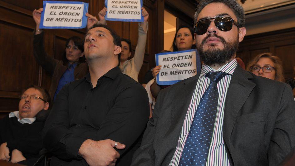 Los candidatos a defensor de las personas con discapacidad hablaron tras el escándalo