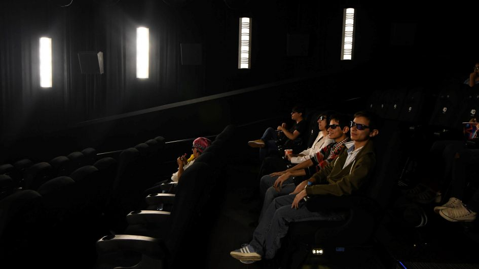 Cine 4D: los efectos especiales para espectadores llegaron a la provincia
