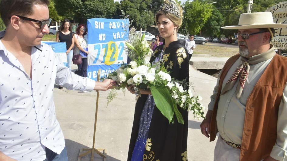 Así recibieron en San Carlos a la nueva Reina Nacional de la Vendimia