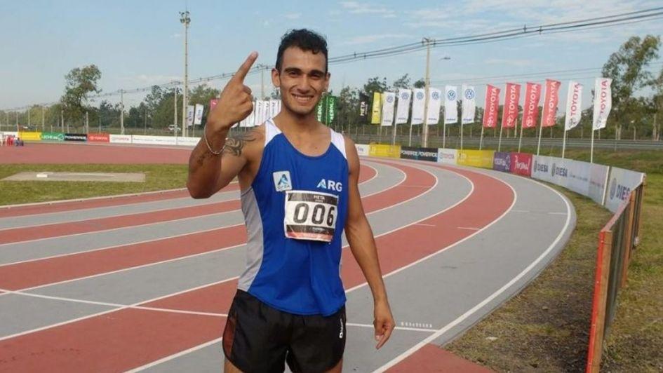 Leandro Paris: de vivir en una carpa a competir en un Mundial
