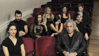 El elenco. Natalio Faingold y su grupo suben esta originalísima obra a nuestra sala mayor.