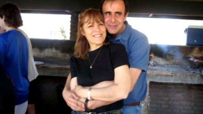 Viejos tiempos. Norma Carleti y Leonardo Hisa cuando eran pareja.