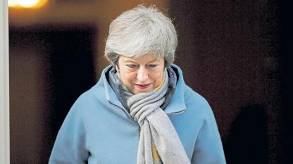 Theresa May quiere someter su tratado, para la salida del Reino Unido de la UE, a votación por tercera vez.