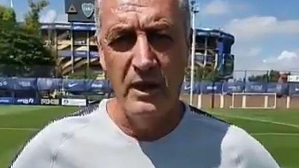 Tras el polémico video pro vida, el DT de Boca Gustavo Alfaro pidió perdón