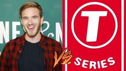 PewDiePie disputa con T-Series la mayor cantidad de suscriptores en YouTube.