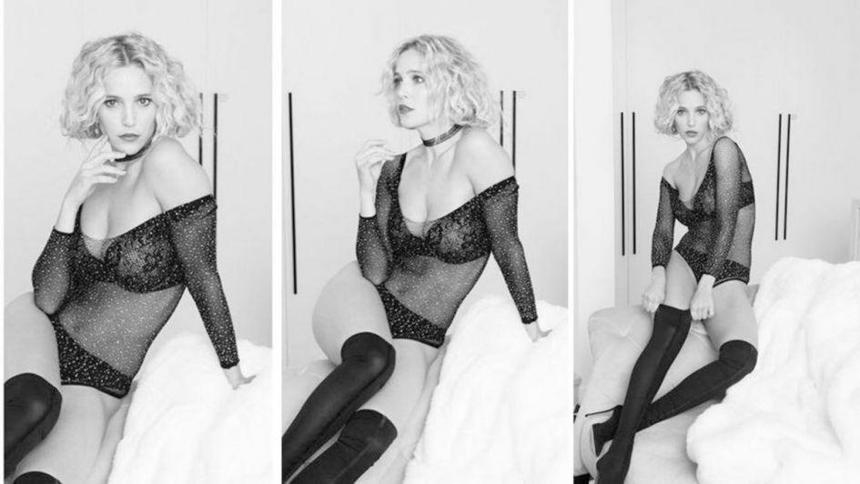 Luisana Lopilato sensual y con poca ropa en una producción de fotos