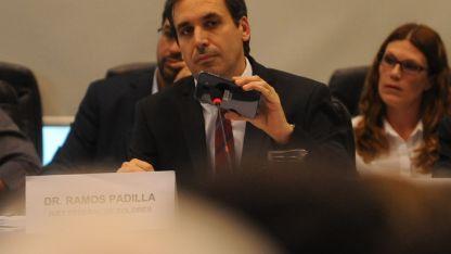 El juez federal Ramos Padilla.