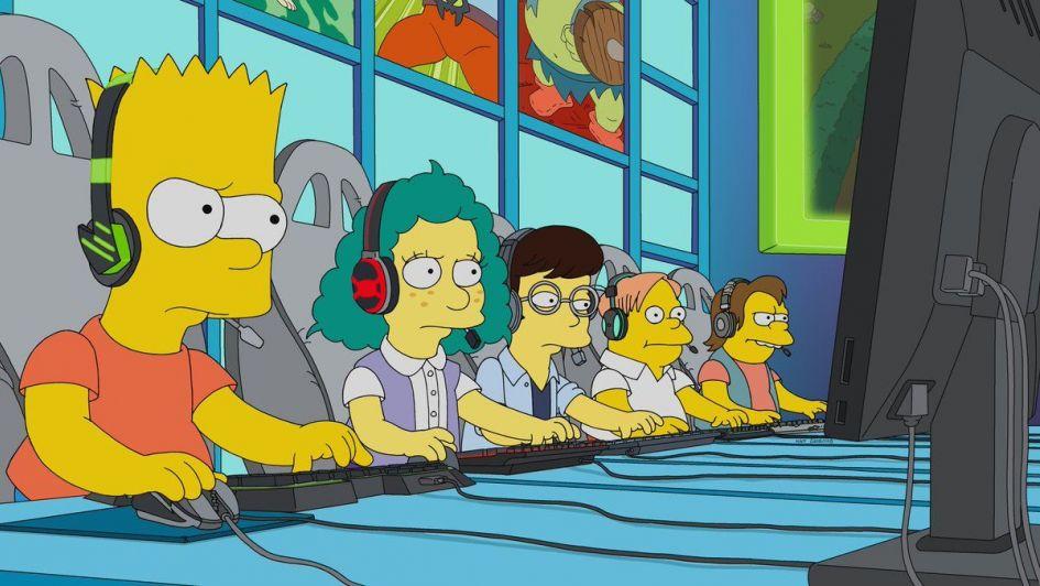 Los eSports llegan a los Simpsons
