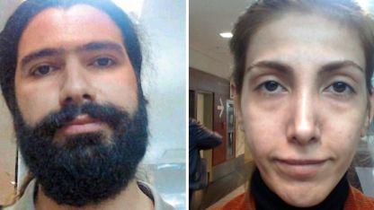 Los iraníes detenidos.