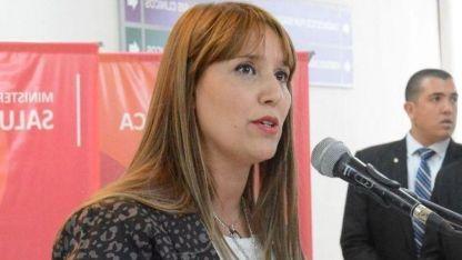 La ministra de Salud de San Juan.