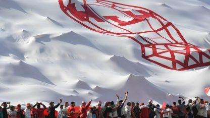 Los hinchas del Globo se preparan para otra gran fiesta por la Copa.