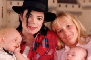 Michael Jackson y Debbie Rowe