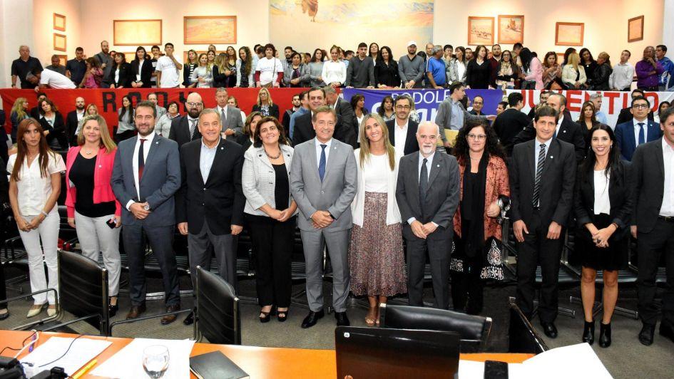 Antes de partir a China, Suárez abrió por última vez las sesiones del Concejo