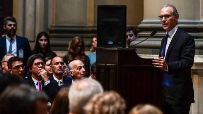El presidente de la Suprema Corte de Justicia de la Nación, Carlos Rosenkranz.