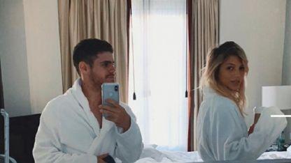 Soffritti y su novia