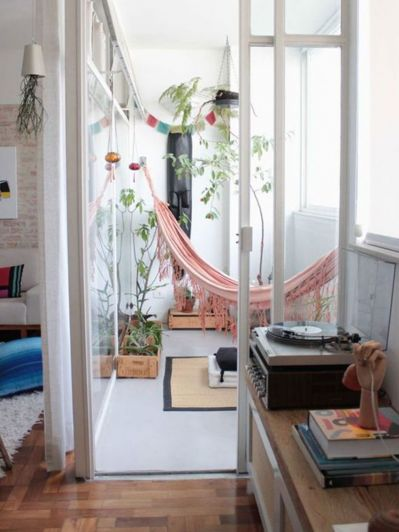 Hamacas: calidez y relax también en tus interiores