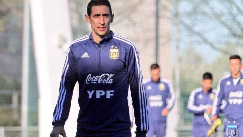 Ángel di María, baja con Argentina
