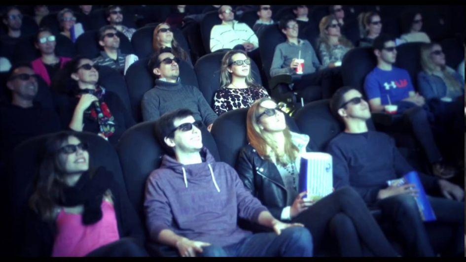 Salas 4D en el Village Cines , el futuro ya está aquí