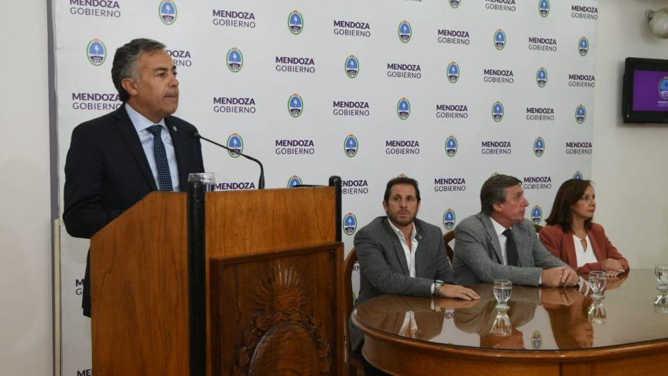 Reelecciones: Cornejo aceptará que los intendentes del PJ sean candidatos
