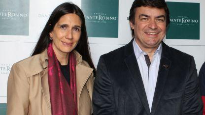 Cecilia Paez junto a Omar De Marchi