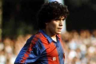 Diego Maradona en el Barcelona