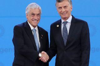 Sebastián Piñera y Mauricio Macri