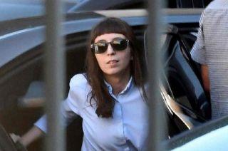 Florencia Kirchner, la hija de Néstor y Cristina Fernández.