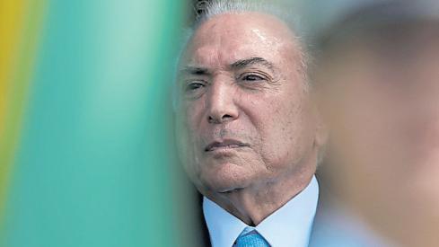 La detención de Temer, una piedra para Bolsonaro