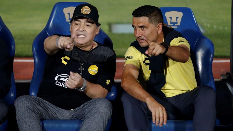 Maradona, lapidario con la Selección Argentina: