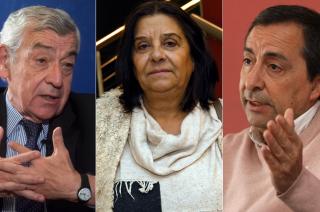 Bordón, Gutiérrez y Thomas, los más importantes en este momento.