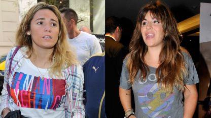 Gianinna Maradona y Rocío Oliva