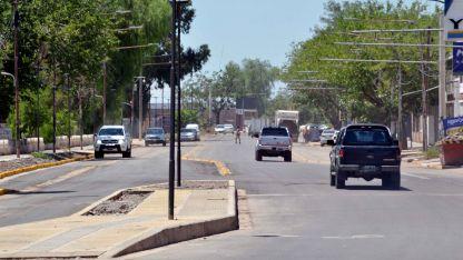 El primer tramo de Godoy Cruz va desde Mitre hasta Allayme.