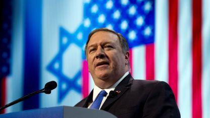 Mike Pompeo. El secretario de Estado de EEUU apuntó contra Rusia.