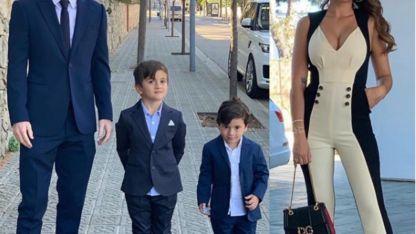 La elegante familia Messi- Roccuzzo