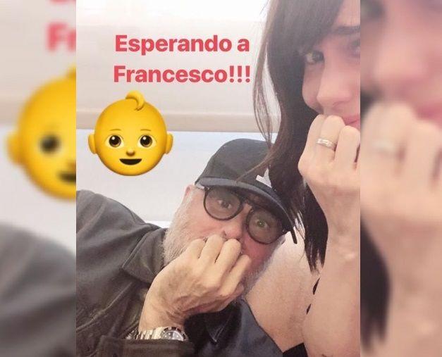¡Morena Rial publicó la primera foto de su hijo, Francesco Benicio!