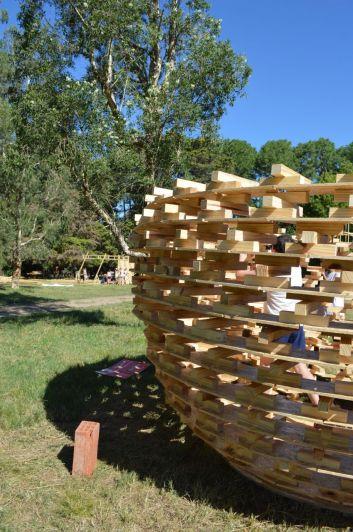 Se realizó el festival de experimentación en madera