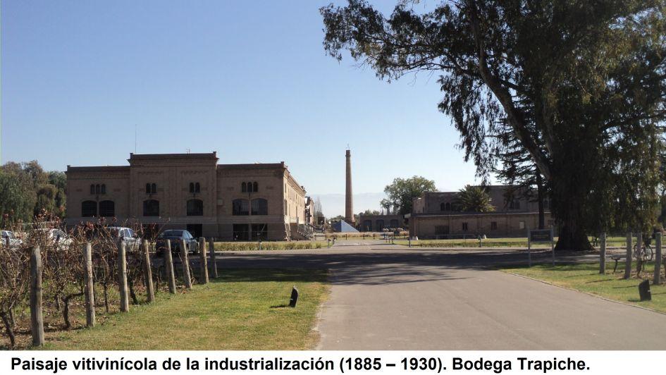 Área Metropolitana de Mendoza: el paisaje patrimonial agro – vitivinícola