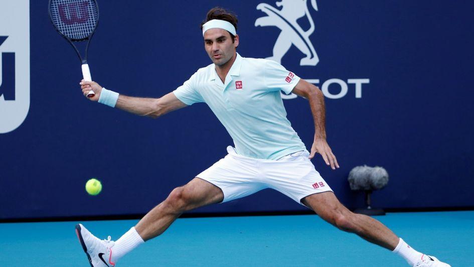 Roger Federer le ganó a Medvedev y ya está en cuartos de final de Miami