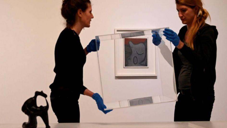 Subastaron en París un dibujo de Pablo Picasso en $ 14 millones