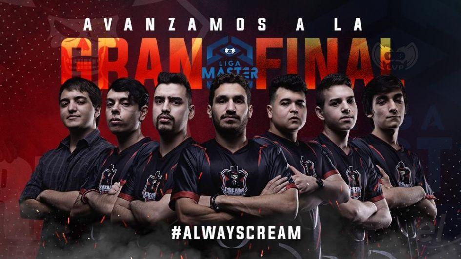 Cream eSports, el imbatible de Argentina