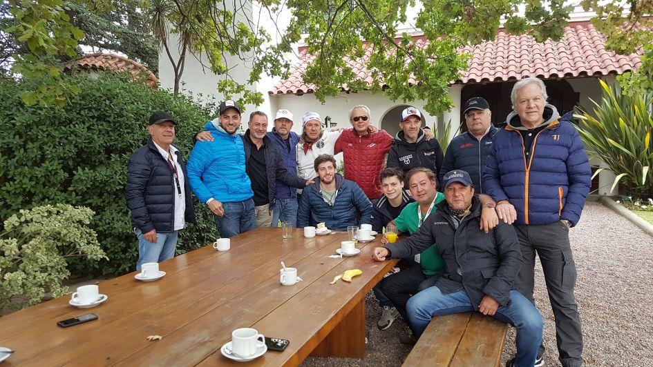 Nieto Senetiner junto con la confitería Virgen del Valle en el Rally de las Bodegas